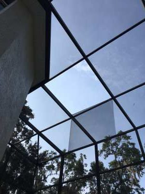 How to replace a screen winter garden